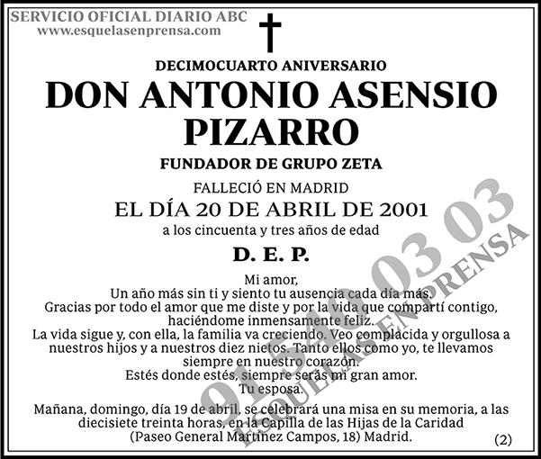 Antonio Asensio Pizarro